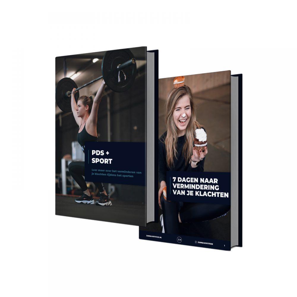 Ebooks PDS + Sport & 7 dagen naar vermindering van je klachten
